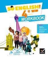 So English ! 4e, cycle 2, A2 / workbook