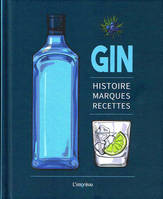 Gin, Histoire, marques, recettes