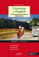 Literature in English / anthologie des littératures anglophones