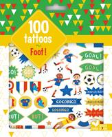 100 tattoos foot