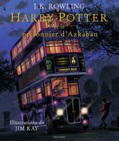 Harry Potter et le prisonnier d'Azkaban - Harry Potter T03 (illustré)