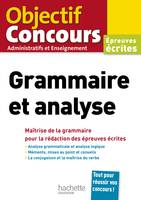 Objectif Concours Grammaire et analyse 2020