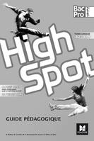 HIGH SPOT Tome unique 2de/1re/Tle Bac Pro - Éd. 2017 - CD audio