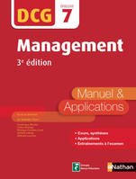 Management - DCG 7 - Manuel et applications, Format : ePub 3
