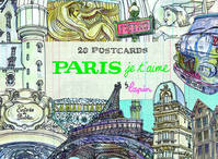 Paris, je t'aime. 20 Postcards