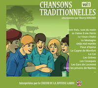CHANSONS TRADITIONNELLES / VOLUME 1 / CD