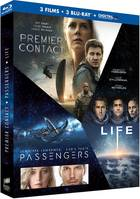Coffret 3 films : Premier Contact+Passengers+Life