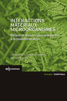 INTERACTIONS MATERIAUX-MICROORGANISMES