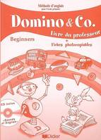 Domino and Co beginners guide pédagogique + cd sons
