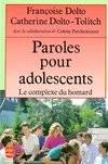 Paroles pour adolescents