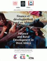 Finance et développement rural en Afrique de l'Ouest / Finance and Rural Development in West Africa