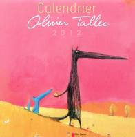Calendrier Olivier Tallec 2012