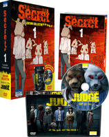 1, Secret T01 - Pack collector avec DVD film Judge