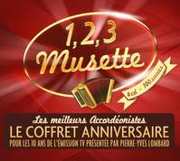 123 musette coffret 4 cd