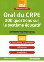 ORAL DU CRPE 200 QUESTIONS SUR LE SYSTEME EDUCATIF