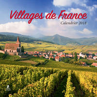 villages de France, calendrier 2018