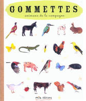GOMMETTES ANIMAUX CAMPAGNE