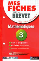 Maths 3e / mes fiches ABC du brevet