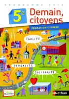 Éducation civique 5e (2010) - Grand format, éducation civique, 5e