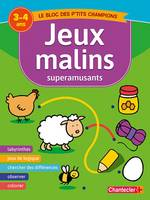 JEUX MALINS SUPERAMUSANTS (3-4 A.)