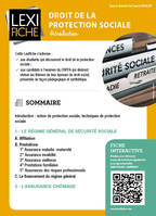 Droit de la protection sociale, Introduction