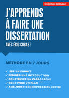 J'apprends à faire une dissertation