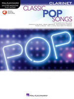 Classic Pop Songs - Clarinet, Instrumental Play-Along