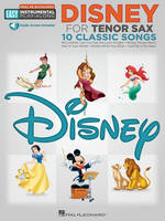 Disney - Tenor Sax, Book with Online Audio Tracks
