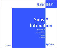 Sons et Intonations cd audio, Exercices de prononciation cd audio