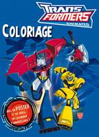 COLORIAGE AVEC POSTER TRANSFORMERS ANIMATED