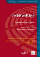 L'intérêt public local - 1re édition