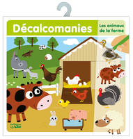 DECALCOMANIES ANIMAUX FERME