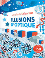 Illusions d'optique - Autocollants Usborne