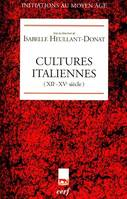 CULTURES ITALIENNES, XIIe-XVe siècle
