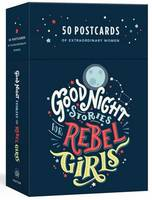 GOOD NIGHT STORIES FOR REBEL GIRLS: 50 POSTCARDS /ANGLAIS