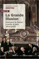 La grande illusion, Comment la france a perdu la paix, 1914-1920