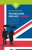 Vocabulaire anglais courant