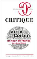CRITIQUE 865 866 : ALAIN CORBIN. UN TOUR DE FRANCE DES EMOTIONS