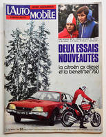 L'AUTOMOBILE n° 355 janvier 1976, Audi 50 GL, Salon de Turin, Norton 850 John Player