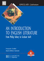 An Introduction to English Literature, from Philip Sidney to Graham Swift