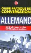 Guide pratique de conversation : Allemand