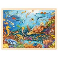 PUZZLE GRANDE BARRIERE DE CORAIL 96 PIECES