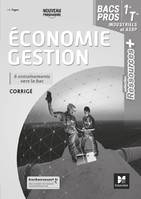 RESSOURCES PLUS - ECONOMIE-GESTION 1RE-TLE BAC PRO - ED. 2020 - CORRIGE
