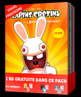 The lapins crétins / pack 1