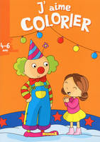 J'AIME COLORIER (4-6 ANS) (CLOWN)