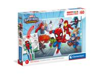 Super Hero Marvel Double face puzzle 60 pièces