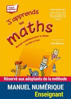 J'apprends les maths CM1, manuel