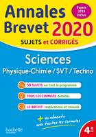 Annales Brevet 2020 Sciences