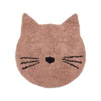 Tapis Chat 80 x 100 cm rose