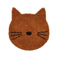 Tapis Chat 80 x 100 cm moutarde